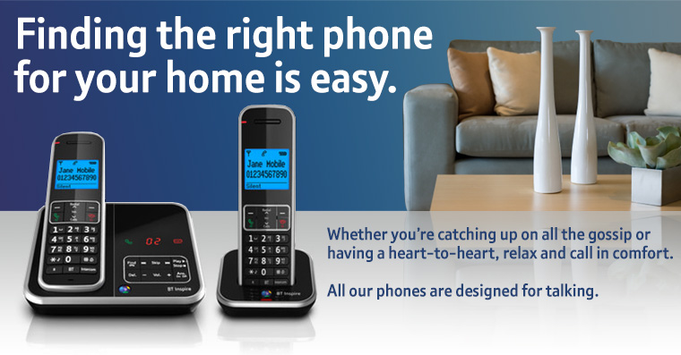Find your perfect home phone
