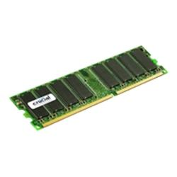 Crucial 1GB 184pin DIMM PC2700 DDRRAM NP Unbuffered CL2.5