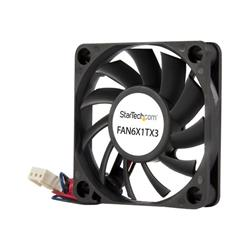 StarTech.com 60x10mm Replacement Ball Bearing Computer Case Fan with TX3 Connector