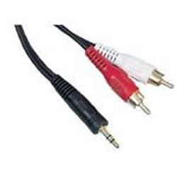 Cables Direct Stereo Jack to 2 x RCA