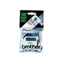 Brother Black on White 9mm 4 M Tape