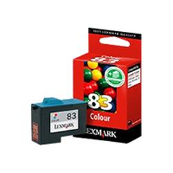 Lexmark No. 83 Colour Ink Cartridge - Z55/Z65/X5150