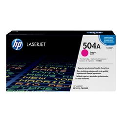 HP 504A Magenta Original LaserJet Toner Cartridge
