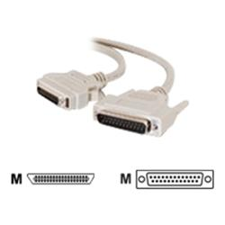 C2G 2m IEEE-1284 DB25 Male to MicroCentronics 36 Male Parallel Printer Cable
