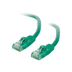 C2G 10m Cat5E 350 MHz Snagless Booted Patch Cable - Green