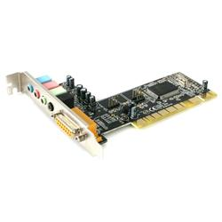 StarTech.com 4 Channel PCI Sound Card with AC97 3D Audio Effects