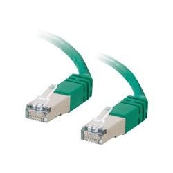 C2G 4m Shielded Cat5E Moulded Patch Cable - Green