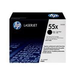 HP 55X High Yield Black Original LaserJet Toner Cartridge