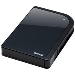 Buffalo 1TB MiniStation Shockproof Turbo USB2 Black
