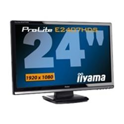 "Iiyama Pro Lite E2407HDS 24"" Widescreen 1920 x 1080 2MS HDMI DVI-D VGA LCD Monitor with Speakers"