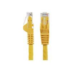 StarTech.com 35 ft Yellow Gigabit Snagless RJ45 UTP Cat6 Patch Cable