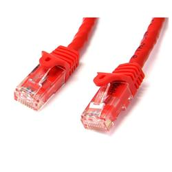StarTech.com 75 ft Red Gigabit Snagless RJ45 UTP Cat6 Patch Cable
