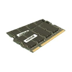 Crucial 2GB kit (1GBx2) DDR2 800MHz (PC2-6400) CL6 SODIMM 200pin