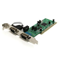 StarTech.com 2 Port PCI RS422/485 Serial Adapter Card with 161050 UART