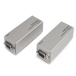 StarTech.com Serial DB9 RS232 Extender over Cat 5 - Up to 3300 ft (1000 meters)