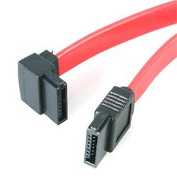 StarTech.com 12in SATA to Left Angle SATA Serial ATA Cable
