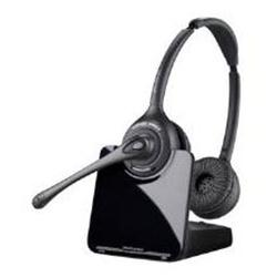 Poly Plantronics CS520 Binaural/Duo/Stereo Over-the-Head Wireless DECT Headset