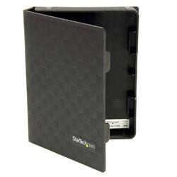 StarTech.com 2.5in Anti-Static Hard Drive Protector Case - Black (3 Pack)