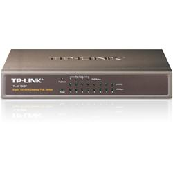 TP LINK 8-Port 10/100 MBps Desktop PoE Switch