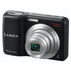 Panasonic Lumix DMC-LS6 - Digital camera - compact - 14.1 Mpix - 5 x optical zoom - black