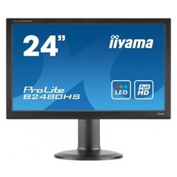 "iiyama ProLite B2480HS-B1 24"" 1920x1080 VGA DVI HDMI Height Adjustable LED Monitor"