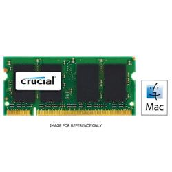 Crucial 2GB DDR3 1333MHz PC3-10600 204pin SODIMM CL9 For Mac