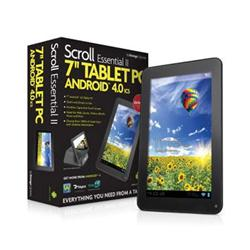 "Storage Options Scroll Essential II 7"" Android 4.0 Capacitive Tablet PC"
