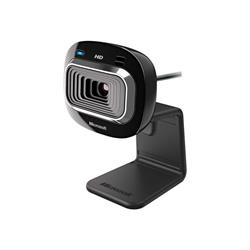 Microsoft LifeCam HD-3000 Web camera - colour - audio - Hi-Speed USB