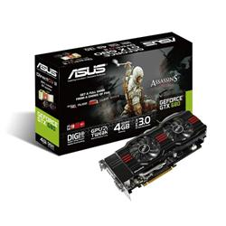 Asus GeForce GTX 680 4GB PCI-Express 3.0 HDMI DirectCU II