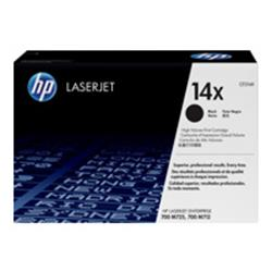 HP 14X High Yield Black Original LaserJet Toner Cartridge