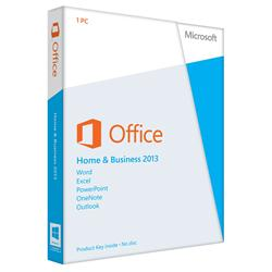 Microsoft Office Home and Business 2013 - 32/64-bit (Medialess)