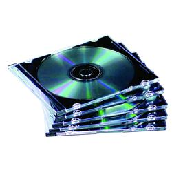 Fellowes Slimline Jewel Case 10 Pack - Clear
