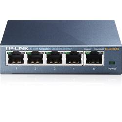 TP LINK 5-Port Gigabit Desktop Switch - Steel Case
