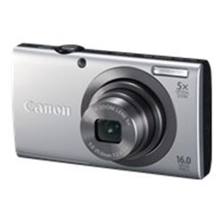 Canon PowerShot A2300 - compact - 16.0 Mpix - 5 x optical zoom - silver