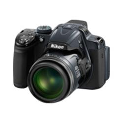Nikon Coolpix P520 - 3D - compact - 18.1 Mpix - 42x optical zoom - silver