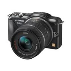 Panasonic Lumix DMC-GF5K - mirrorless system - 12.1 Mpix - 3x optical zoom 14-42mm lens - black