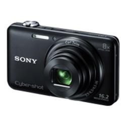 Sony Cyber-shot DSC-WX60 - 3D - compact - 16.2 Mpix - 8x optical zoom - Carl Zeiss - black