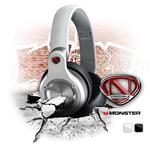 Monster Cables NCredible NPulse Over-Ear Headphones - White