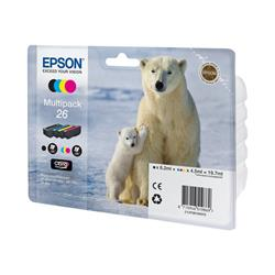 Epson Multipack 4-colours 26 Claria Premium Ink Polar Bear