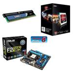 Asus AMD Performance Bundle (Includes F2A55-M LK, AMD A8-5600K & 4GB XMS Memory)