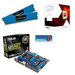 Asus AMD Gamer Bundle (Includes M5A97 R2.0, AMD FX-4300 & 8GB Vengeance LP Memory)