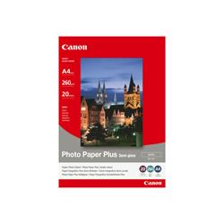 Canon Photo Paper Plus SG-201 - Semi-gloss photo paper - A4 (210 x 297 mm) - 260 g/m2 - 20 sheets