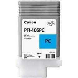 Canon PFI106M Photo Cyan Ink 130ML