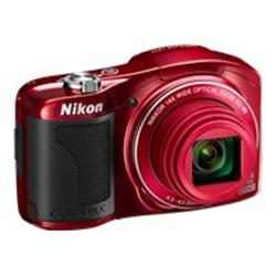 Nikon Coolpix L610 - 3D - compact - 16.0 Mpix - 14x optical zoom - red