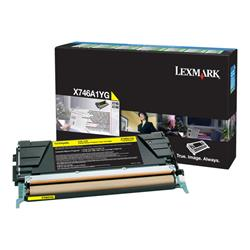Lexmark X746/748 Yellow Return Program Toner