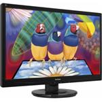 "ViewSonic VA2445-LED 24"" 1920x1080 5ms VGA DVI-D LED Black Monitor"