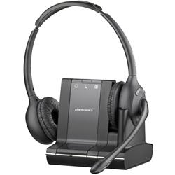 Plantronics Savi W720-M Duo/Stereo/Binaural Wireless Headset - MS Lync & Triple Connectivity