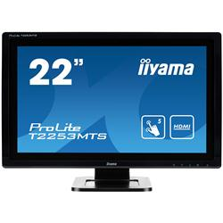 "iiyama ProLite T2253MTS 22"" 1920x1080 2ms HDMI DVI-D LED Black Monitor"