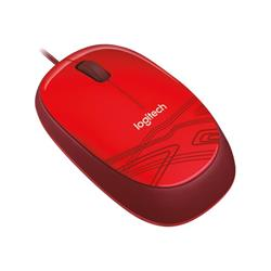 Logitech M105 Mouse Red