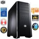 CoolerMaster 693 Window Transparent Side Window Black Bezel Case